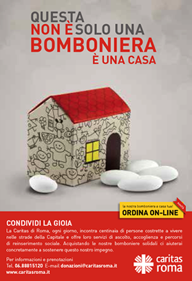 Bomboniere solidali Caritas Roma