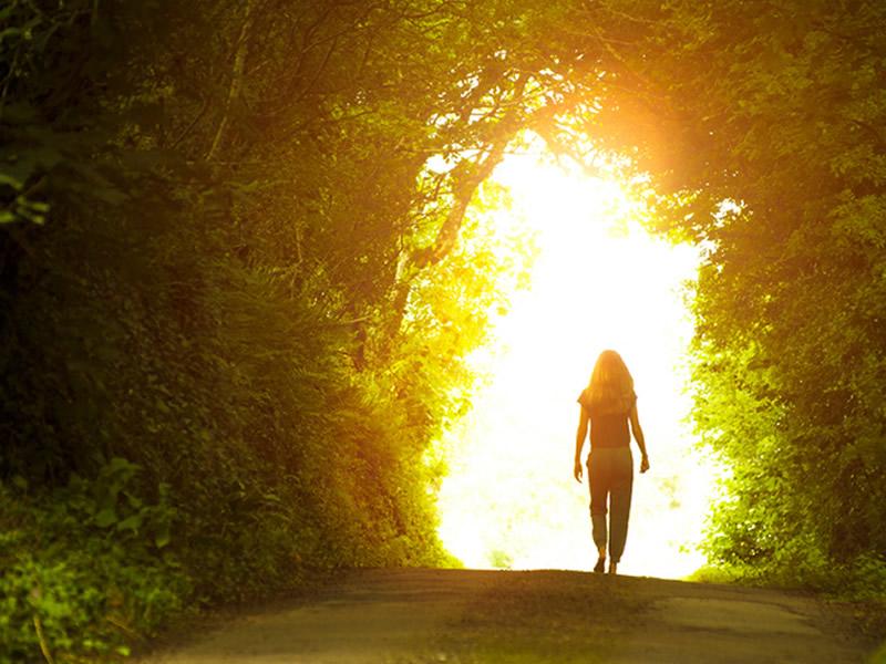 camminare nella luce