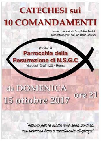 catechesi 10 comandamenti