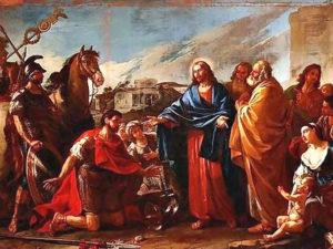 Gesù guarisce il figlio del funzionario del re
