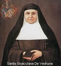 Gioacchina de Vedruna - Fondatrice delle Suore Carmelitane della Carità