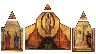 Icona del Cristo Risorto