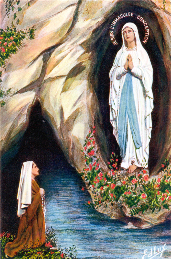 Our Lady Of Lourdes Quotes Quotesgram