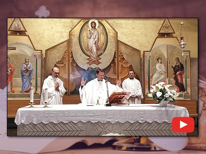 santa messa 25 aprile 2020