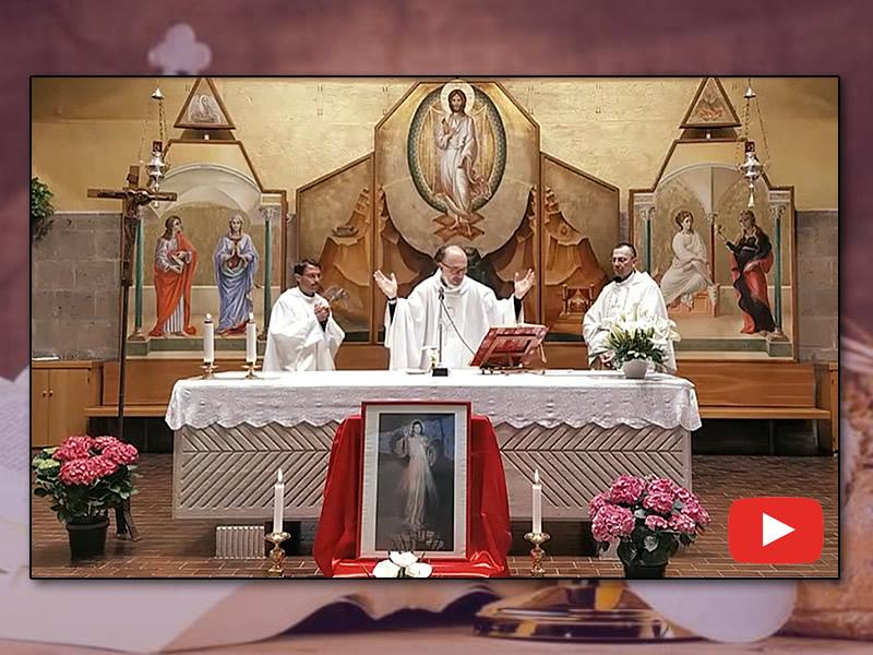 Santa Messa - Domenica Della Divina Misericordia 18/04/2020