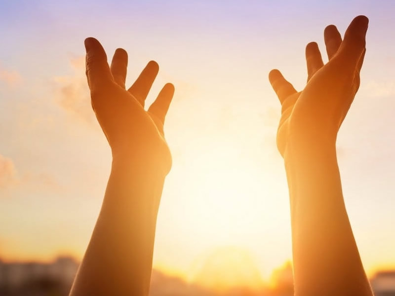 preghiera al cielo