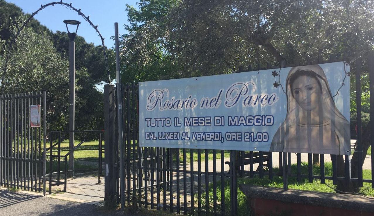 rosario nel parco, maggio 2018, giardinetti