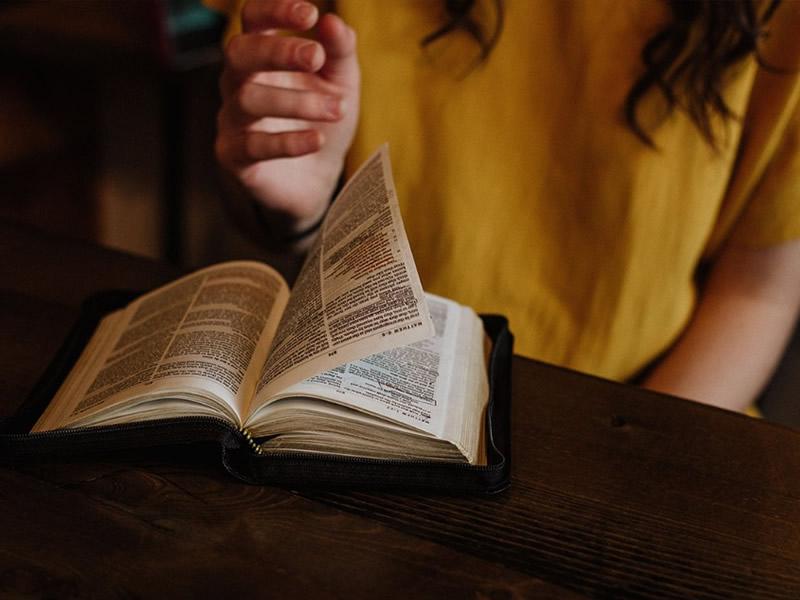 inizio studio della bibbia